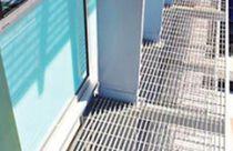 Plancher technique en aluminium / d'extérieur