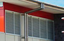 Grille de ventilation en aluminium / rectangulaire