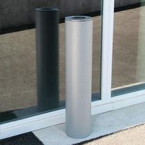 Cendrier sur pied / mural / en acier / en acier inoxydable