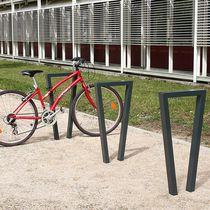 Appui-vélo au sol / en acier