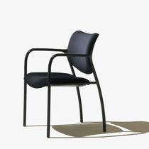 Chaise de bureau / visiteur / contemporaine / en tissu