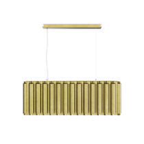Lampe suspendue / contemporaine / en laiton / fait main