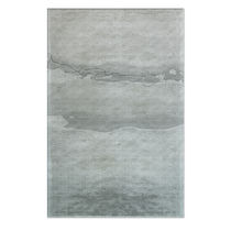 Tapis contemporain / à motif / en tencel® / rectangulaire