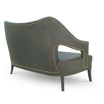 Canapé contemporain / en tissu / 2 places / sur mesure