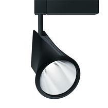 Éclairage sur rail à LED / rond / en fonte d'aluminium / pour commerce