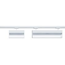 Éclairage sur rail à LED / linéaire / en fonte d'aluminium / professionnel