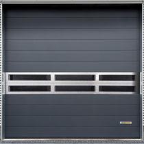 Porte industrielle enroulable / en métal / automatique / insonorisée
