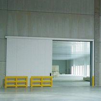 Porte industrielle battante / coulissante / en acier / coupe-feu