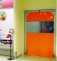Porte industrielle battante / en métal / en PVC / pour l'industrie agroalimentaire