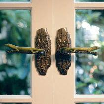 Poignée de porte / en bronze / contemporaine
