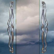 Poignée de tirage pour porte en verre / en inox / contemporaine