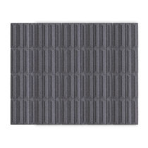 Panneau acoustique pour agencement intérieur / en fibre de polyester