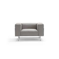 Chaise longue contemporaine / en tissu / par Christophe Pillet
