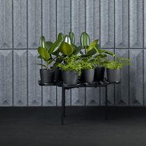 Table contemporaine / en acier / en aluminium / en ABS