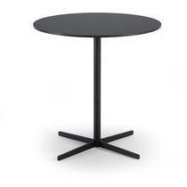 Table bistrot contemporaine / en stratifié / ronde / carrée