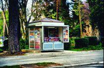 Kiosque commercial / en inox / préfabriqué / pour espace public