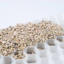 Géogrille pour stabilisation de sol / de terrasse / en polyéthylène