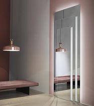 Miroir mural / lumineux / contemporain / rectangulaire