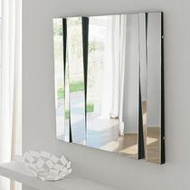 Miroir mural / contemporain / carré / rectangulaire
