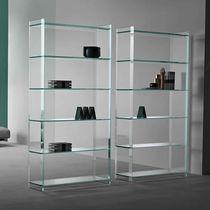 Bibliothèque contemporaine / en verre