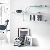 Étagère murale / modulable / contemporaine / en verre