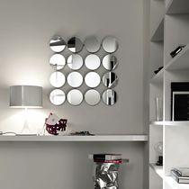 Miroir mural / contemporain / carré / rond