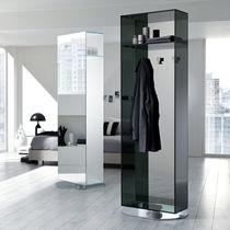 Meuble d'entrée contemporain / haut / en verre