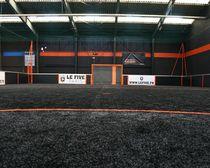 Gazon en synthétique / en rouleau / pour terrain de football
