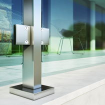 Système de fixation en aluminium anodisé / pour balcon