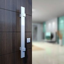 Poignée de tirage pour porte / en aluminium anodisé / contemporaine