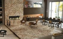 Carrelage d'intérieur / de sol / en marbre / à motif géométrique