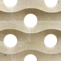 Cloison séparatrice fixe / en marbre / de bureau / résidentielle