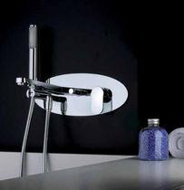 Mitigeur pour baignoire / de douche / en métal chromé / 3 trous