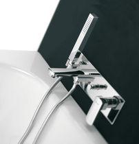 Mitigeur pour baignoire / en métal chromé / 4 trous