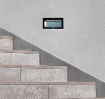 Luminaire encastrable au mur / à LED / rectangulaire / carré