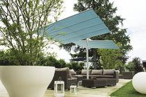 Parasol contract / en tissu / en aluminium / orientable