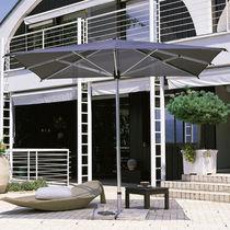 Parasol professionnel / en aluminium / en tissu / résistant au vent