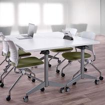 Table de travail / contemporaine / en stratifié / rectangulaire