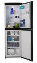 Réfrigérateur congélateur résidentiel / à double porte / noir / écologique