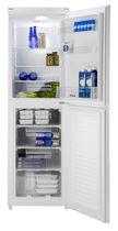 Réfrigérateur congélateur résidentiel / à double porte / blanc / écologique