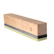 Isolant acoustique / en laine de bois / pour plancher / pour mur