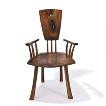 chaise contemporaine en bois avec accoudoirs IN BETWEEN WORLDS Peter Hook
