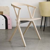 chaise contemporaine en bois B CHAIR BD Barcelona Design