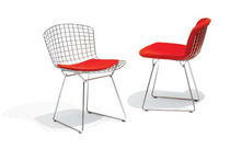 chaise luge design par Harry Bertoia BERTOIA SIDE CHAIR Knoll international