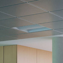 dalle de plafond acoustique perforée 600 TEGULAR Movinord