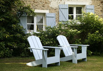 fauteuil de jardin contemporain (adirondack) PASTELGRAPHIC SDA Decoration