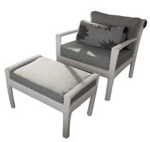 fauteuil de jardin contemporain avec repose-pieds TF 0813 Nature Corners Co.,Ltd.