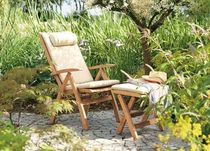 fauteuil de jardin contemporain pliant CLASSIC RECLINER Garpa