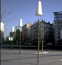 lampadaire urbain contemporain NENETTES SARRAGALA