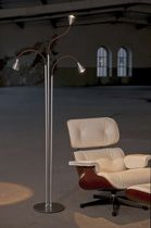 lampe sur pied contemporaine en métal (orientable) ATHENE® 700.19 less'n'more